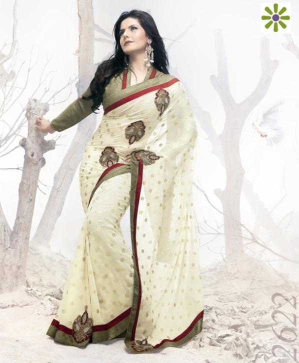 Zarine Khan Saree