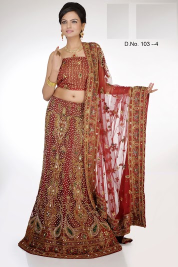 bridal lehangas by brijraj (6)