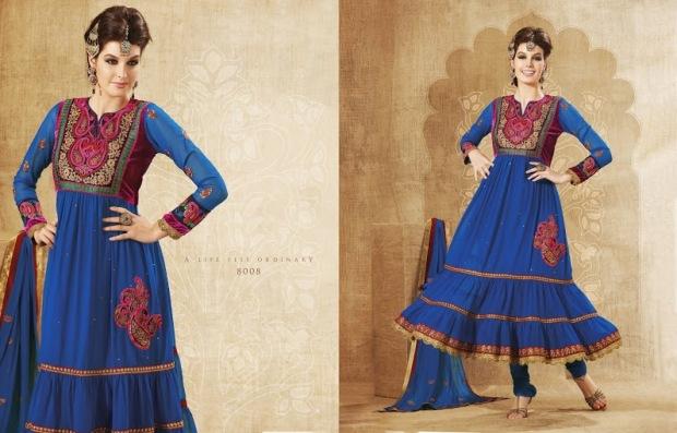 Brijraj Anarkali Designer Suit