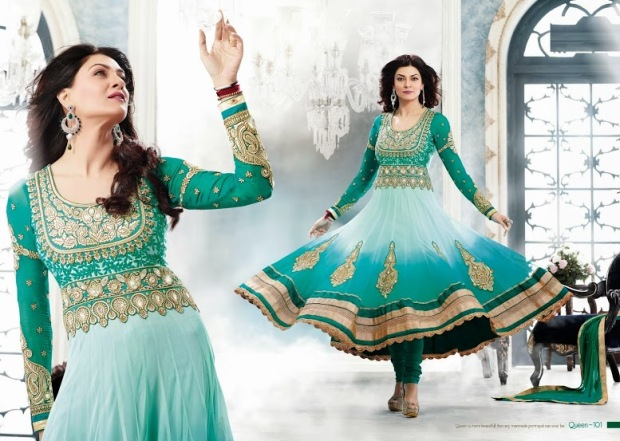 Shushmita Sen anarkali suits