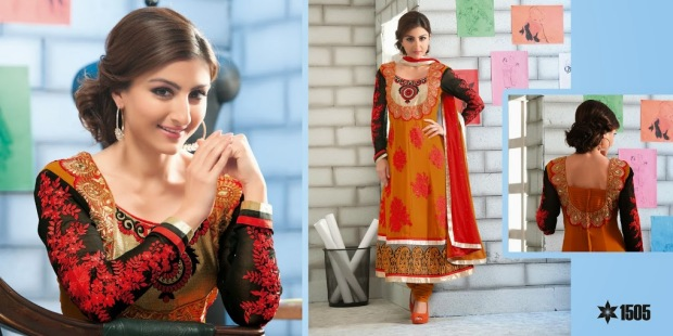 Soha Ali Khan in anarkali Suit
