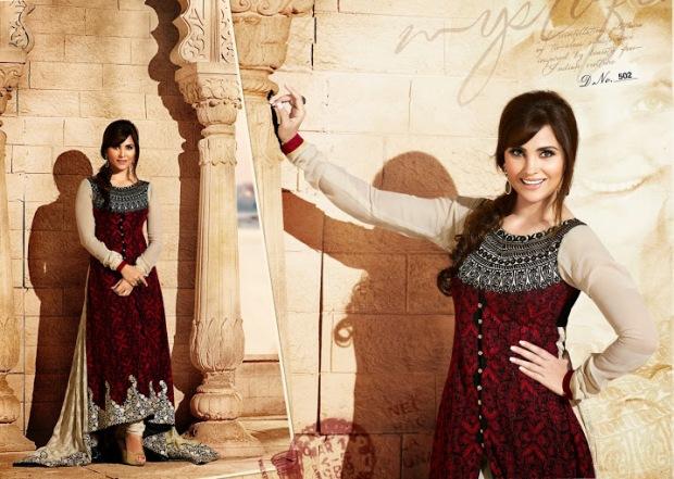 Lara Dutta in Brijraj Suit