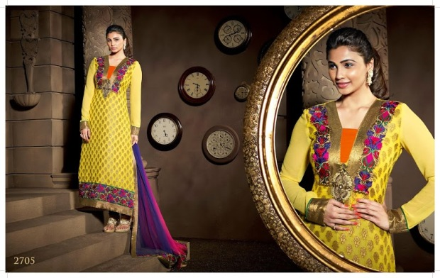 Daisy Shah Eid Special Suit collection