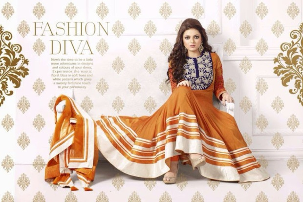Eid Special Anarkali Suit Dhrashti Dhami